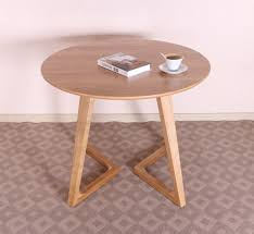 100 US Imports Of Pure Solid Wood White Oak Coffee Table Simple And Stylish  Shui Small Round ...