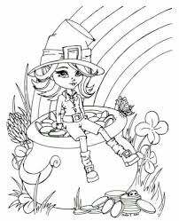 Free prıntable colorıng pages for kıds 25 Free Leprechaun Coloring Pages Printable