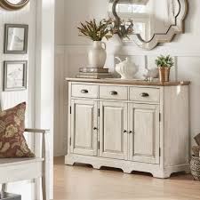 buffet server furniture. Eleanor Two Tone Wood Buffet Server Cabinet Sideboard Tables Buffets Furniture N