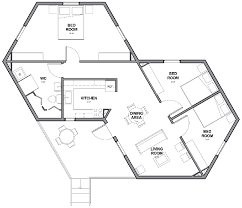 Hexagon House Pentagons Hexagons Geometry Pinterest  Home Plans Hexagon House Plans