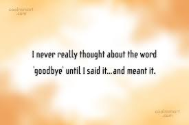 Goodbye Quotes Impressive Goodbye Quotes And Sayings Images Pictures Page 48 CoolNSmart