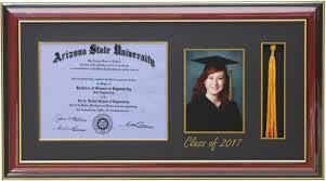 com h diploma x tassel x picture frame  com h diploma 11x8 5 tassel 5x7 picture frame 2017 mahogany customizable graduation frame tassel