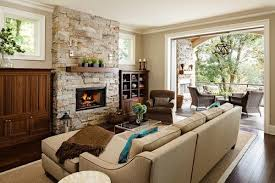Wooden Living Room Simple Family Room ShiftR Improves The Quality Of This Image ShiftA