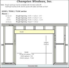 Rough Framing A Door Thetravelcorner Co