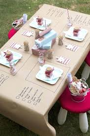 party table covering make