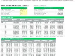 Mortgage Loan Amortization Schedule Excel Template Download Home ...