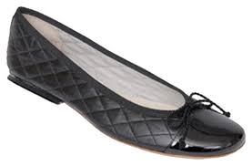 French Sole Black Passport Quilted Ballet Flats Size US 7.5 ... & French Sole Quilted Patent Leather Black Flats. 123 Adamdwight.com