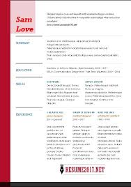 Best Resumes 2017 Stunning 40 Lovely Great Resume Examples 40