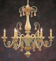 chandelier carved wood chandelier carved wood italian chandelier with tassels motif in antiqued pale