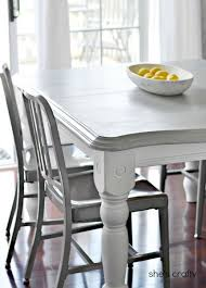 painted table ideas20 DIY Home Decor Ideas  Gray kitchens Kitchens and Gray