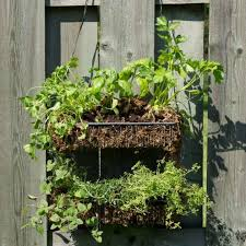 simple hanging herb garden