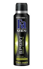 Дезодорант-<b>антиперспирант FA Men</b> sport двойное действие ...