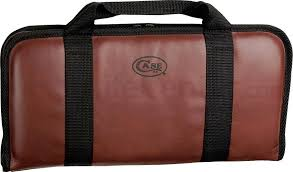 case small knife carrying case holds 22 knives 01074