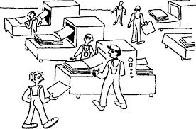 Моделирование в среде текстового процессора Общая характеристика  Прежде чем издать любой текстовый документ будь то книга или реферат письмо или справка необходимо изготовить макет этого документа чтобы каждый объект