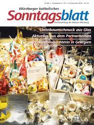 Sonntagsblatt 2018 50 Würzburger Katholisches Sonntagsblatt
