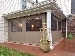 clear covered patio ideas. Enclosure - Clear Drop Curtains | Kreider\u0027s Canvas Service, Inc. Covered Patio Ideas