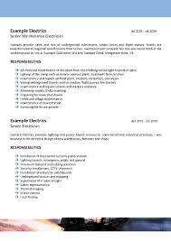 Modern Offshore Cv Examples Templates Festooning Documentation