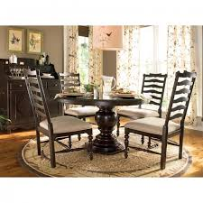 awesome round pedestal table for cozy dining room decor