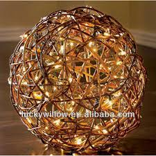 Wicker Decorative Balls