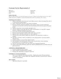 Customer Service Rep Job Description For Resume Therpgmovie
