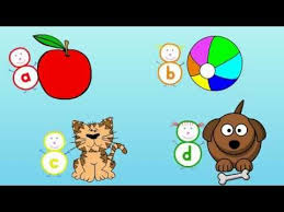 Animation by cambridge english online. It S An Alphabet Song With A Phonics Anchor Word For Each Letter It Helps Children Learn The Sounds Of The L Alphabet Songs Kindergarten Songs Preschool Songs