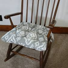 Ikat Rocking Chair Cushions Rocking from MayberryandMain on Etsy