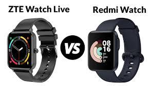 ZTE Watch Live VS Redmi Watch - YouTube