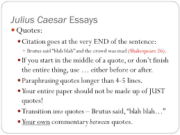 julius caesar essays introduction paragraph ppt video online  julius caesar essays quotes