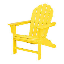 trex outdoor furniture hd tangerine patio adirondack chair txwa16ta the home depot