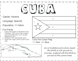 flag coloring page a spanish pages printable in colouring spain