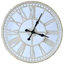 oversized mirror wall clock wonderful large giant round wal