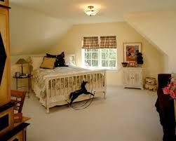 slanted ceiling bedroom