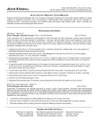 Resume Retail Operations Manager Resume