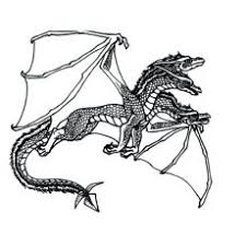Flying Dragon Coloring Pages Coloring Design