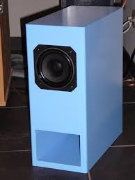 another full range speaker colour chosen by my mother the design is the trick ct193 from the german klang ton