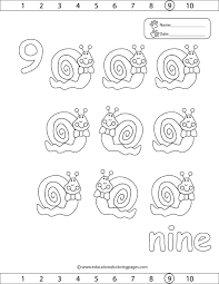 Small Picture Numbers 8 And 9 Coloring Sheets Coloring Coloring Pages