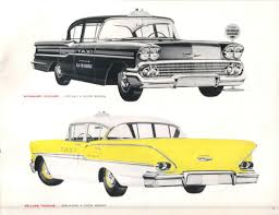 Curbside Classic: 1964 Chevrolet Biscayne Taxi – Experiencing Down ...