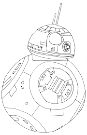 Star Wars Bb8 Coloring Page Free Coloring Pages Coloring Pages