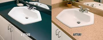 miracle method countertop refinishing before and after photos
