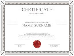 Grey-Red-Award-Certificate-Blank-Red-Seal-Doc-Template