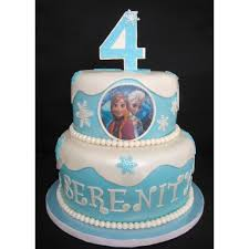 Frozen Theme 2tier Cake 04 4kg In Bangalore Buy Cakes Online In