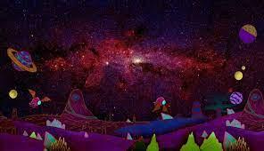 1336x768 Galaxy Rick and Morty HD ...