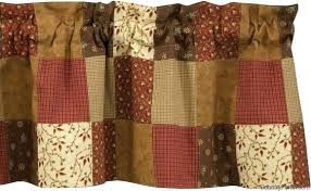 Patchwork Valance Patchwork Valance Lined Rustic Valances Country ... & patchwork ... Adamdwight.com
