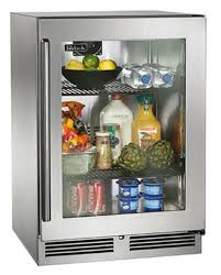 refrigerator glass front. perlick residential pr-hp24rs-3* 24\ refrigerator glass front