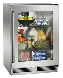 perlick residential pr hp24rs 3 24 undercounter glass door refrigerator signature series sub