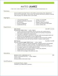 How To Write A Good Resume Examples Resume Example