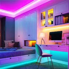 Bộ đèn LED neon dài 5m có 10 màu - Full set đầy đủ adapter - LED dây trang  trí, uốn chữ, hình treo tường chính hãng 239,000đ
