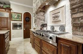 stone veneer kitchen backsplash.  Stone Kitchen With Marble Tile Backsplash And Brick Veneer With Stone Veneer Backsplash I