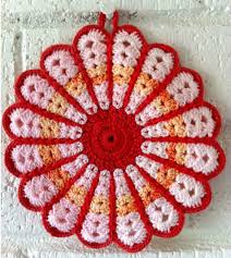 Free Crochet Potholder Patterns Impressive Free Crochet Potholder Patterns Vintage Crochet And Knit