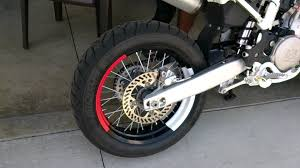 why are supermoto wheels smaller fim asia supermoto